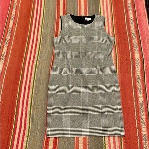 EUC Calvin Klein Plaid Sheath Dress Sz 14